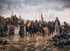The Battle of Empel or Miracle of Empel (Milagro de Empel in Spanish), by Augusto Ferrer-Dalmau.