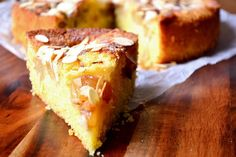 Pear and Almond Cake - This is a cake so difficult to mess up that you're almost guaranteed a delicious, moist and delightful sponge, chock full of pears. Pear Recipes, Easy Cake Recipes, Almond Recipes, Fruit Recipes, Baking Recipes, Sweet Recipes, Summer Recipes, Recipies, Pear And Almond Cake