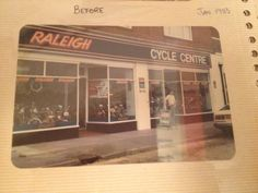 Jan 1983 Our Bike Shop in Shoreham By Sea, West Sussex, UK