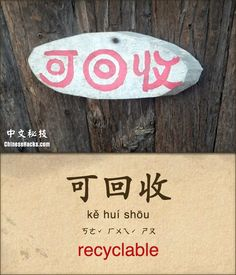 recyclable Basic Chinese, Learn Chinese, Common Phrases, Learn Mandarin, Chinese Language, China, Student Learning, Vocabulary, Languages