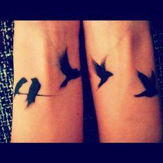 #birds #bird #wrist #wristtattoo #wristtattoos #matching #matchingtattoo #matchingtattoos #pretty #prettytattoo #prettytattoos #cute #cutetattoo #cutetattoos #cutegirltattoos #cutegirlytattoos #tatted #tattoo #tattoos #tattoosforgirls #ink #inked