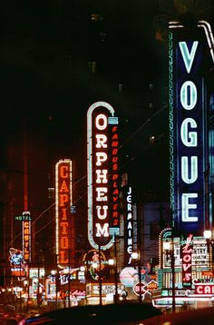 Vancouver, Three Theaters, 1957 by Fred Herzog