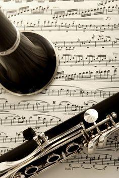 Clarinet and sheet music stock image. Image of metal, musical – 1652385 Clarinet and sheet music. Close up photograph of clarinet and sheet music , Soul Music, Art Music, Rhythm Art, Aesthetic Indie, Aesthetic Dark, Clarinet Sheet Music, Oboe, Bassoon, Music Wallpaper