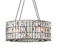 adeline crystal chandelier // pottery barn