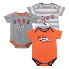 Outerstuff Nfl Infant Girls Cincinnati Bengals Assorted 3 Pack Creeper Set Bright In Colour Baby & Toddler Clothing Clothing, Shoes & Accessories