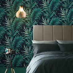Graham & Brown Yasuni Midnight Wallpaper