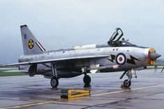 XP754/R Lightning F3 111 Squadron, RAF Wattisham, NAS Yeovilton, Sept 1974. Photo Copyright: Mike Freer