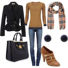 """""""fall navy and camel"""" by lulums on Polyvore"""