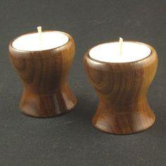 Wood Tea Light Holders