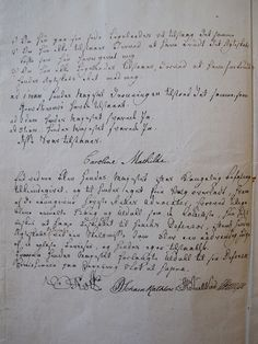 Caroline Mathilde sign his confession, 1772  Queen Caroline Mathilde signed on 9 March 1772 her confession that she had had an affair with Struense. Then the divorce judgment, and Caroline Mathilde was exiled.