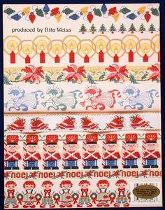 Christmas cross stitch borders | Christmas Borders Sam Hawkins Cross Stitch Patterns - Holidays ...
