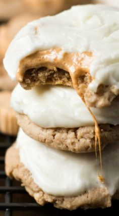 Pumpkin Spice Marshmallow Cookies (pumpkin recipes, desserts)