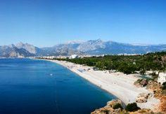 Panorama of Konyaalti Beach
