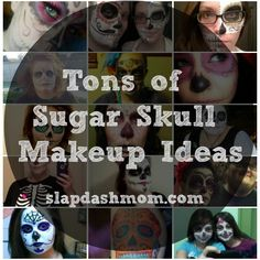 have been thinking about this for halloween or some random thursday...Sugar Skull Halloween Makeup Photos
