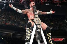 CM Punk, sitting on top of the world.