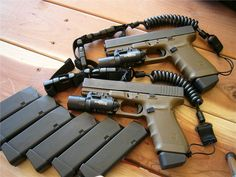 You're not bulletproof..., Double Up A pair of Gen 4 Glock 21's, the .45 ACP...