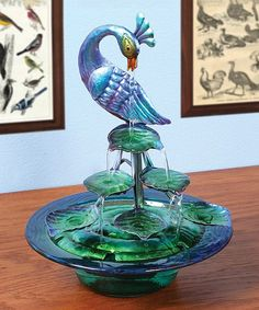 Bring a touch of tranquility indoors with this enchanting fountain.