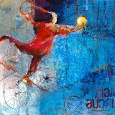 "Robert Burridge Art | Magic Circus"" - Robert Burridge"