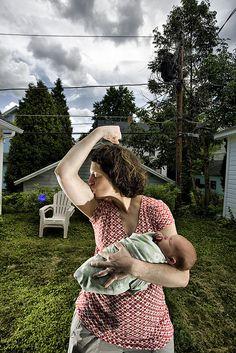Rosie the Riveter.. Mama Power!
