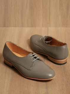 Dieppa Restrepo women's Breezy Cali Non-patent Shoes from S/S 11 collection in grey. £182.00