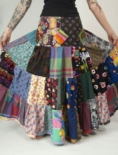 This really is an EPIC skirt! Wonderfully bohemian and made from more…
