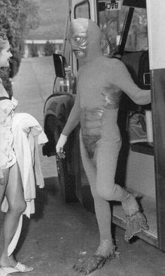 Early Creature from the Black Lagoon costume (1954)