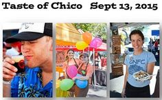Come to Taste of Chico on September 13 in the Downtown Plaza! Chico California, September, Events, Blog, Blogging