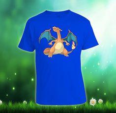 Flame Pokemon Custom Tshirt print screen Tshirt by SpecialDealShop, $16.88
