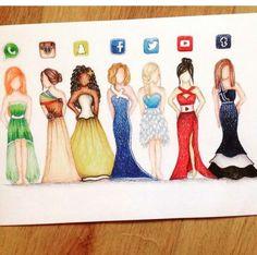 Dress Designs Inspired By Social Media