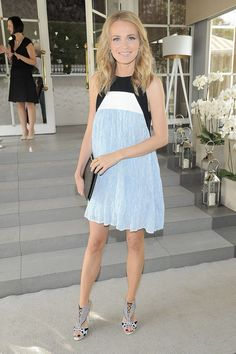 AgniesKa Cegielska in Bohoboco dress and clutch, Sophia Webster heels