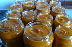 "Canning {deliciously sweet} Peaches without sugar - Don't cha just LOVE when the peaches are on? (FYI that's southern slang for ""it's peach season"") Well, actually, I have no idea if that's real southern slang or not. Romanian Food, Romanian Recipes, Canning Peaches, Ripe Peach, Sweet Peach, Just Peachy, Canning Recipes, Preserves, New Recipes"