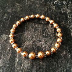 Gesgi Beads Bracelet Gold Trans GBGT8 « Gesgi Beads