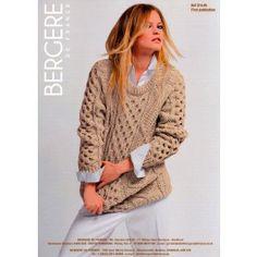 Irish Knit Sweater in Bergere de France Pur Mérinos Français (314.40) €3.79