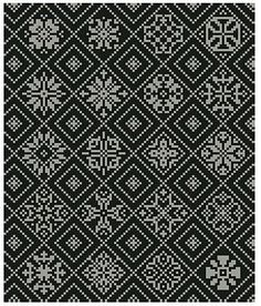Ravelry: An Assortment of Diced Motifs pattern by #define design free download