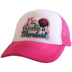 designed by Katydid foam trucker caps are embroidered and have curved bill  adjustable tab with snap back polyester one size fits most cf1cd3d7b4fa