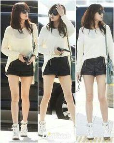#kang sora #airport fashion