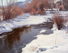 Dolores River Headwaters - Colorado landscape paintings | Jay Moore | Jay Moore Studio