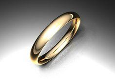 Crea tu joya - EXTREM. Alianza modelo almen. Material oro rojo. Calibre 2,5mm; 3,0mm; 3,5mm; 4,0mm; 4,5mm o 6,0mm a elegir. Superficies brillo, mate fino y mate seda a elegir.