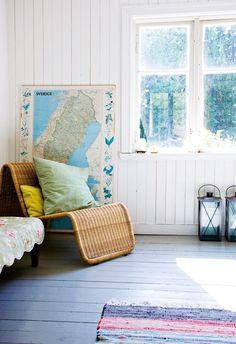 Swedish summer cottage style :)