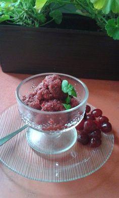Meggy sorbet Sorbet, Ice Cream, Pudding, Desserts, Food, Sherbet Ice Cream, Meal, Custard Pudding, Deserts