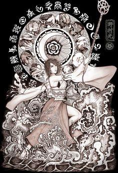 Week 10 - Final Fantasy X - Fan Art Wed - summoner yuna | Tumblr