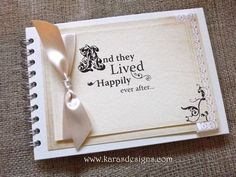 Guest books Fairy Tale guest book. And they lived happliy ever after... part of the once upon a time theme