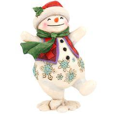 Jim Shore Walking Snowman Figure $22.00