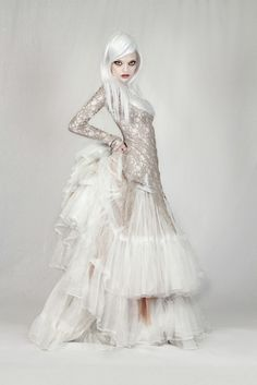 steam punk, but i can see this going vampire or fairy. from steampunk couture.
