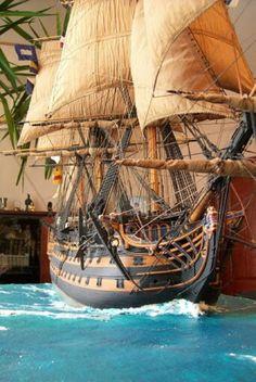 Maritime Style Decorating with Nautical Decor HMS Surprise
