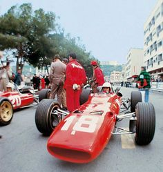 f1 Ferrari 312 Montercarlo 67 n.18 Bandini ant