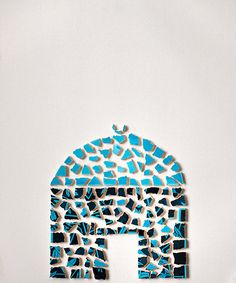 Home decor printable wall art. Handmade mosaic and ceramic