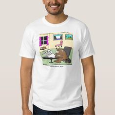 #Beaver #LivingWills @LTCartoons #Tshirt #humor @zazzle @pinterest #lawyers #estates #estatelaw #sale #gift #wildlife