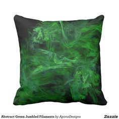 Rest your head on one of Zazzle's Green decorative & custom throw pillows. Add comfort and transform any couch, bed or chair into the perfect space! Color Patterns, Decorative Throw Pillows, Colorful, Abstract, Green, Design, Decorative Pillows, Colour Pattern, Design Comics