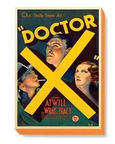 MOV 001 Movie Poster Art - Doctor X CL